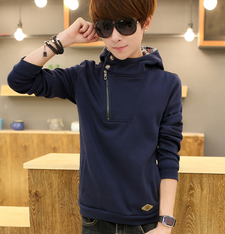 pullover blank 60% cotton 40% polyester cool hoodies for men GK130H