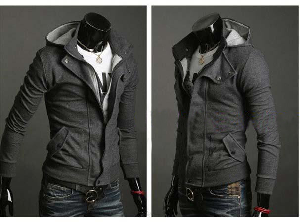 100%cotton body shape hoodies with full zipper