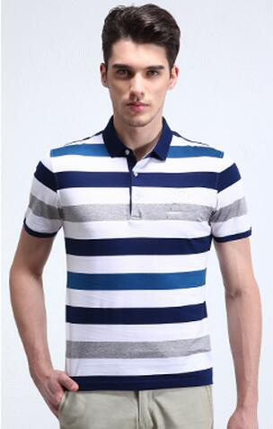 100% cotton custom yarn dyed mens polo shirt wholesale