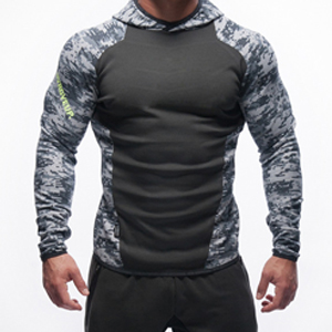 Wholesale Custom Fitness Hoodie for Men Sports