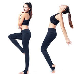 Blank Mid-rise workout legging