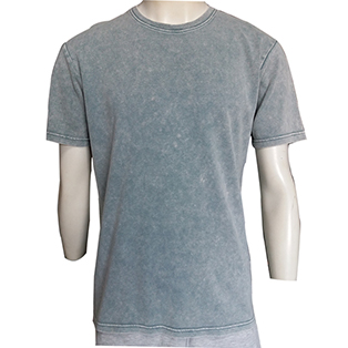 oem custom your own design 100% cotton pre-shrunk pigment dyed plain t-shirt