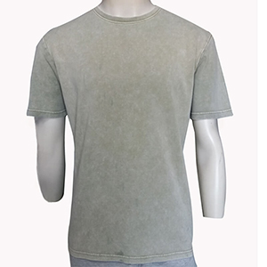 180gsm Washed Pigment/Garment Dyed Blank T-shirt 100% cotton