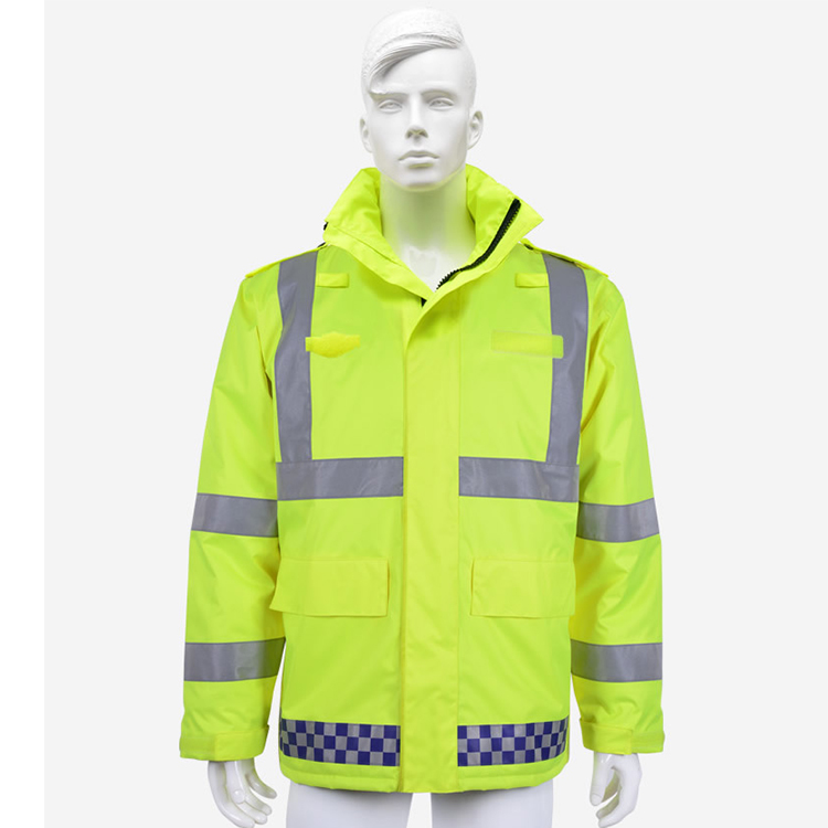 Wholesale custom waterproof reflective jacket