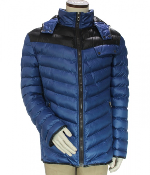 Provide OEM service quilted mens winter jacket with thick hood